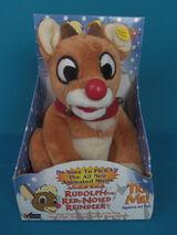 Singing Rudolph The Reindeer