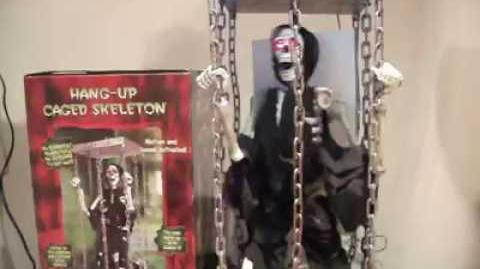 Hang-Up Caged Skeleton (Michael's Exclusive)
