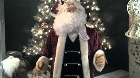 (RARE) Gemmy Dancing Santa