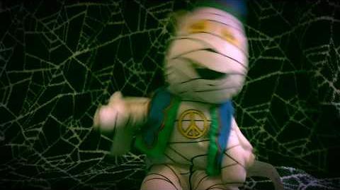 """Gemmy Halloween Dancer- """"Da, Da, Da, Da,"""" Mummy"""
