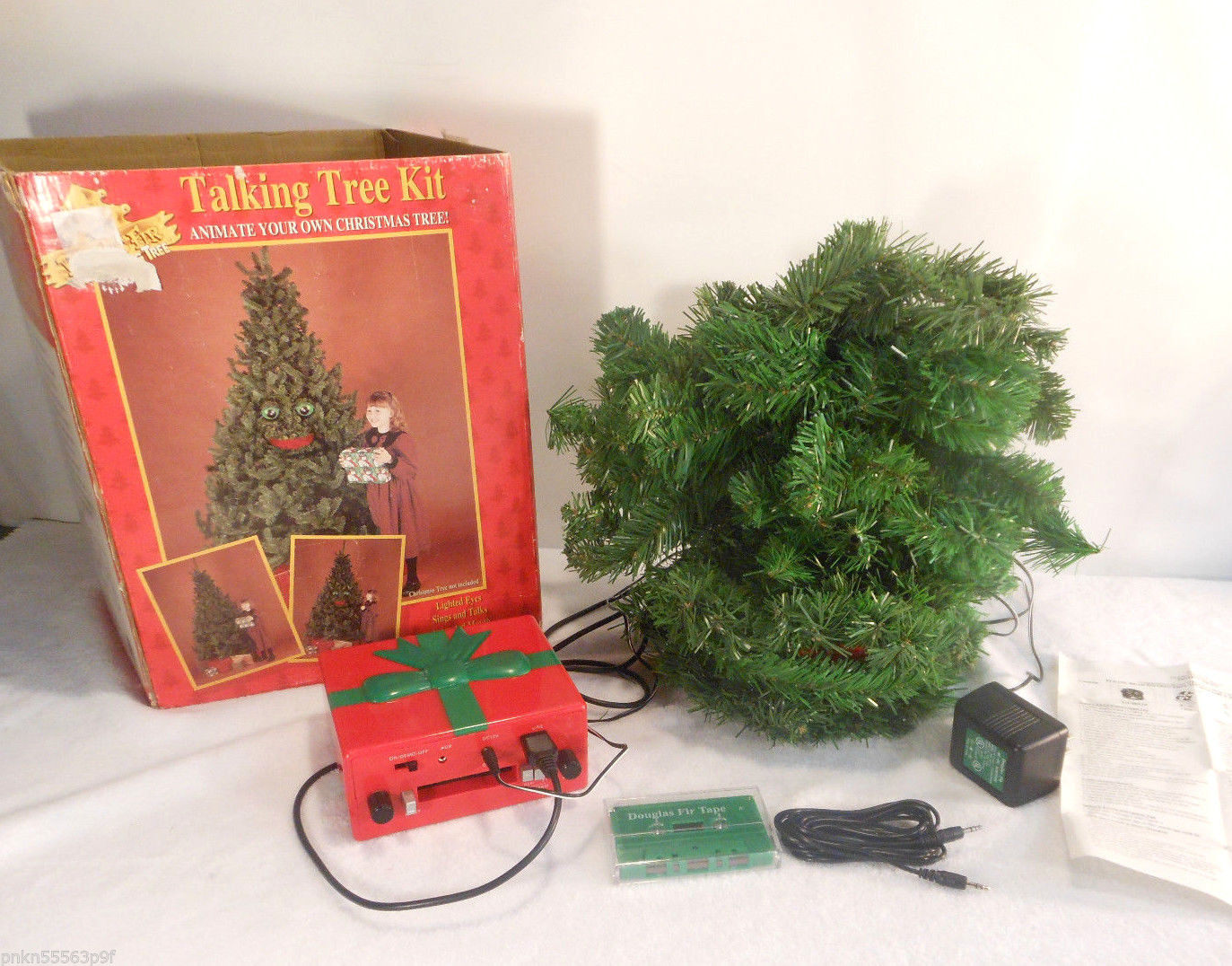 Gemmy 1996 Douglas Fir Animated Tree Kit 6
