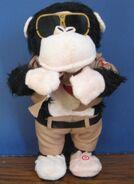 Gemmy Industries Love Patrol Animatronic Singing Dancing Monkey