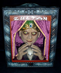 Zultan Animated Fortune Teller Halloween Prop with Box & Accessories - RARE 2