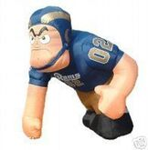 7 FT AIRBLOWN INFLATABLE SAINT LOUIS RAMS NFL NFC FOOTBALL LINEMAN