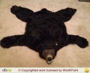 GEMMY BEAR SKIN RUG ANIMATED BUD THE TALKING BEAR