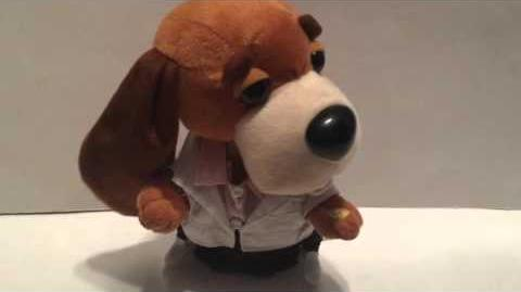 Gemmy 2003 Singing & Dancing Hound Dogs 1956 Elvis Sings ''Heartbreak Hotel''