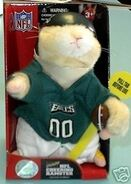 NFL Cheering Hamster-Philadelphia Eagles