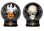 Halloween Tornado Globes