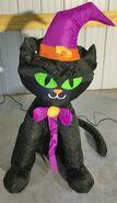 Gemmy Prototype Halloween Inflatable Cat
