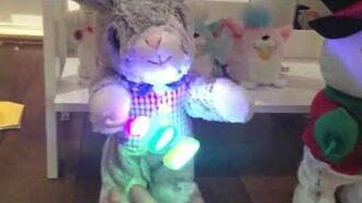 Snowflake spinner snowman bunny