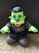 Gemmy Dancing Singing Frankenstein Animated Musical Plush Haloween