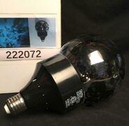Gemmy Halloween Hyde & Eek Lighted LED Rotating Skull Light Bulb Sample NMIB