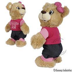 Dancing Girl Teddy Bear