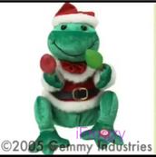 Prototype Holiday Frog w lights