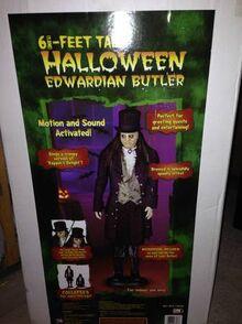 Edwardian butler