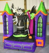 Gemmy Prototype Halloween Inflatable Monster Mash