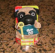 MIAMI DOLPHINS SINGING & DANCING PARTY PUG - NEW