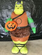Gemmy Prototype Halloween Inflatable Star Wars Gamorrean Guard