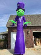 Gemmy Prototype Halloween Inflatable Ghost