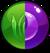 Gem Green Purple