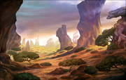 Background Pridelands