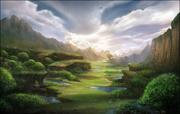 Background Divinion Fields