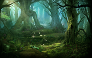 Background Forest of Thorns