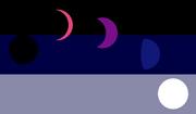Selenogender flag