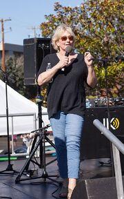 Theresa Sparks at San Francisco Trans March 2016
