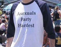 Asexual tshirt