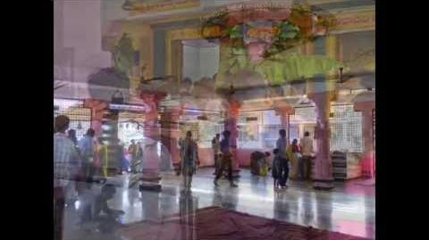 In side Views of the Garlavoddu Sri Lakshmi Narasimha Swamy Temple in Khammam District.