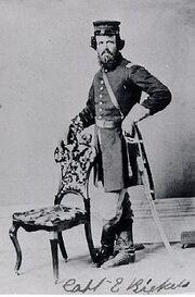 Ezra Ricketts died 1863 chickamauga 17th ovi
