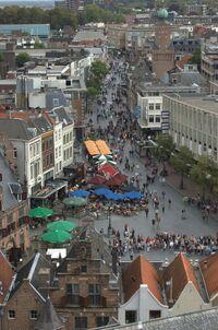 Burchtstraat of Nijmegen