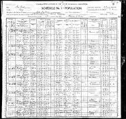 1900 census Martin Philips