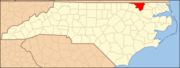 North Carolina Map Highlighting Northampton County.PNG