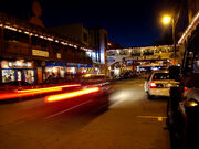 Cannery Row at night