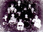 Elisha Marks (1846-1939) and family