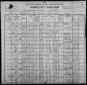 Census of Florence Township Benton County Iowa 1900 pg02