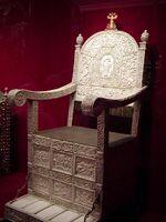 Ivans ivory throne