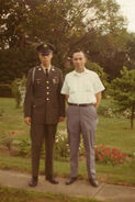 John Earl Borland Jr. and Sr. 1965-1970 circa