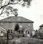 14 sweets Road, home of Edward William Burgess Baglin, Florence Evelin Jenner (wife) and family - rear view