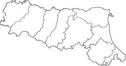 Italy Emilia-Romagna location map