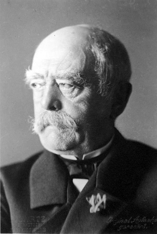 F/ürst von Otto Bismarck,1st Chancellor,German Empire,Minister President,1875 Photo
