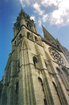 Cathedral of Chartres, western spires