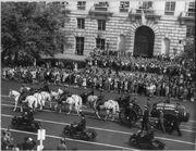 Franklin Roosevelt funeral procession 1945