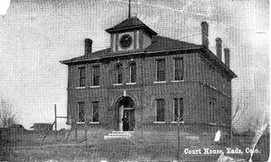 Kiowa County Courthouse 1903
