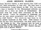 John Merwin Oldrin (1836-1903)