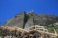 Ruins of Deva citadel being renovated 1