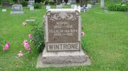 Wintrone-Norval tombstone