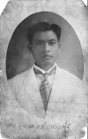 Francisco Brillantes in 1914